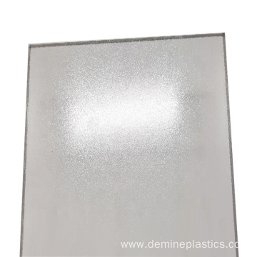 Translucent frosted solid polycarbonate sheet plastic sheet